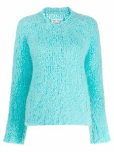 Maison Margiela textured jumper - Blue