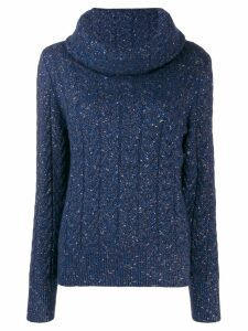 Blumarine turtleneck jumper - Blue