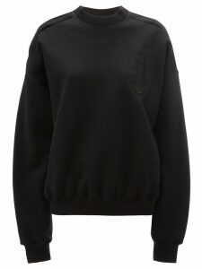 JW Anderson oversized cold shoulder sweatshirt - Black