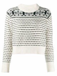 Calvin Klein Jeans knit jumper - NEUTRALS