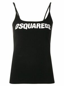 Dsquared2 logo patch camisole top - Black