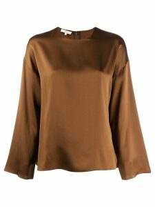 Vince plain blouse - Brown