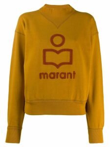 Isabel Marant Étoile Moby sweatshirt - ORANGE