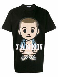 Ih Nom Uh Nit oversized printed T-shirt - Black