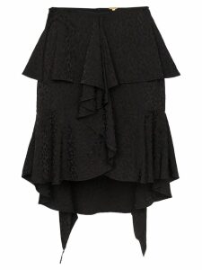 Johanna Ortiz Nonsense Moments ruffle mini-skirt - Black