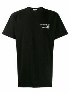 Ih Nom Uh Nit oversized logo T-shirt - Black