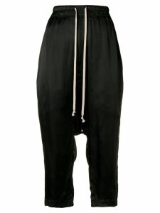 Rick Owens dropped crotch trousers - Black