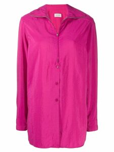 Lemaire zipped shirt - PINK