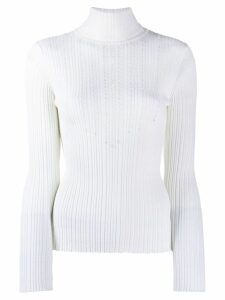 Blumarine knitted sweatshirt - White