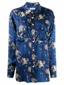 Faith Connexion floral print shirt - Black