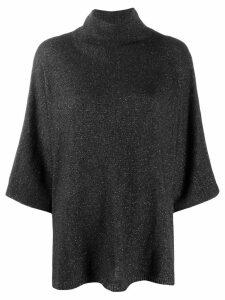 Etro metallic knit jumper - Grey