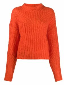 Isabel Marant chunky Irren jumper - Orange