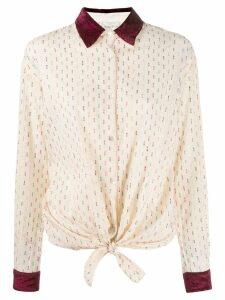 Forte Forte fil coupé shirt - NEUTRALS