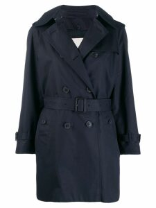 Mackintosh MUIE Ink Cotton Short Trench Coat LM-1012FD - Blue