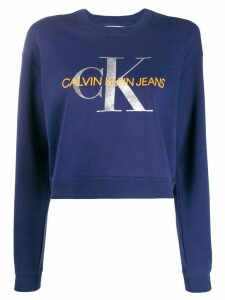 Calvin Klein Jeans logo sweatshirt - Blue