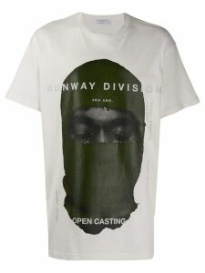 Ih Nom Uh Nit printed Runway Division' T-shirt - White