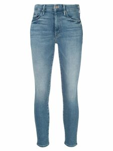 Mother The High Waisted Looker Ankle jeans - Blue