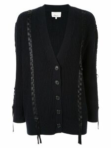 3.1 Phillip Lim ribbon stitch cardigan - Blue