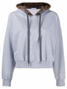 Brunello Cucinelli hooded sweatshirt - Grey