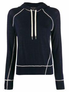 Rag & Bone fine knit hoodie - Blue