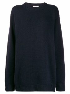 The Row knitted jumper - Blue