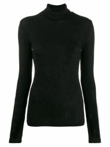 Faith Connexion ribbed lurex jumper - Black