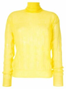 Nina Ricci fine knit jumper - Yellow