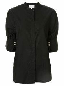 3.1 Phillip Lim mandarin collar shirt - Black