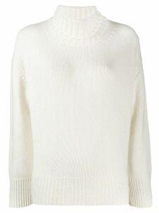 Woolrich roll neck sweatshirt - White