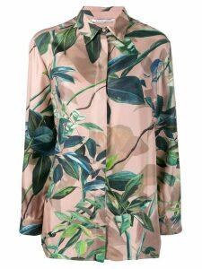 Agnona floral print shirt - PINK