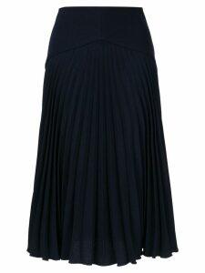 Dion Lee Annex pleated skirt - Blue