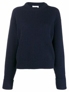 Chloé ribbed knit sweater - Blue