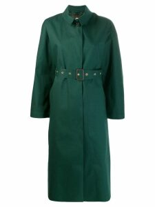 Mackintosh ROSEWELL Cedar Green Oversized Single Breasted Trench Coat