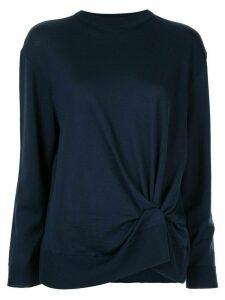 Nina Ricci knot detail jumper - Blue