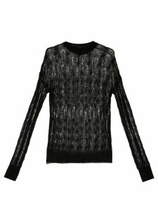 Nina Ricci fine knit jumper - Black