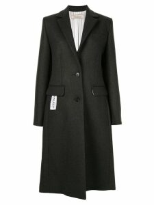 Nina Ricci classic single-breasted coat - Grey