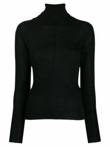 Lorena Antoniazzi cashmere turtleneck sweater - Black