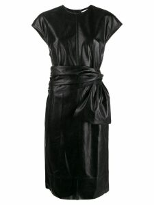 Brognano belted dress - Black