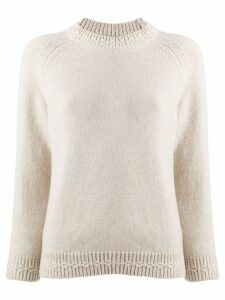 A.P.C. chunky knit jumper - NEUTRALS