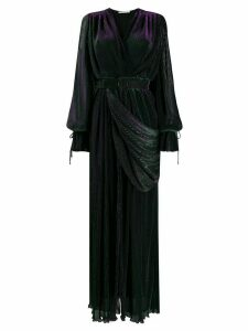 Marco De Vincenzo belted maxi dress - Black