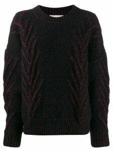 Marco De Vincenzo glitter embellished jumper - Black