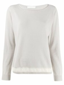 Fabiana Filippi lightweight sweatshirt - Grey