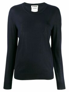 Jil Sander crew neck jumper - Blue