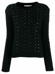 Philosophy Di Lorenzo Serafini crystal embellished jumper - Black