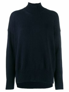 Jil Sander turtleneck jumper - Blue