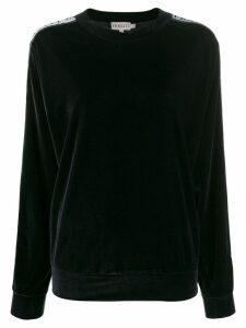 Fiorucci logo tape sweatshirt - Black