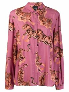 Just Cavalli tiger print shirt - PINK