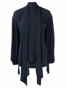 Chloé tied neck blouse - Blue