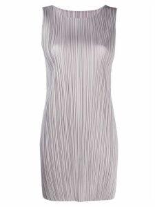 Pleats Please Issey Miyake sleeveless pleated top - Grey