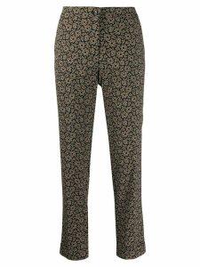Etro kaleidoscope trousers - Black
